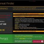 crypto ransomware 4 - threat finder