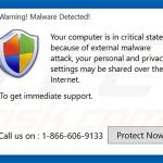 Junk Cleaner generating false computer infection warnings