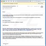 Deceptive email spreading a malicious Microsoft Office document (sample 3)