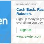 Advertisement by Holiday Radio Promos adware