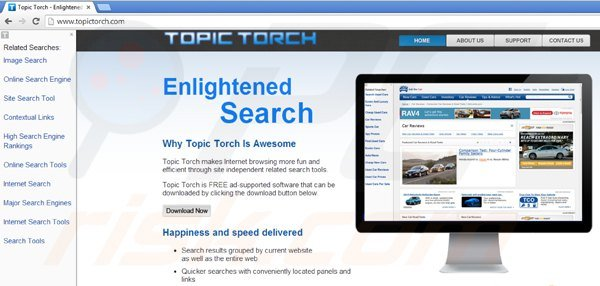 Wirus topic torch