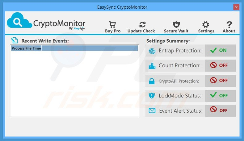 cryptomonitor ransomware prevention application