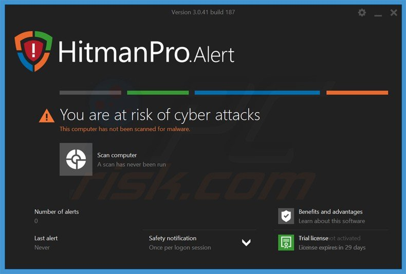 hitmanproalert ransomware prevention application