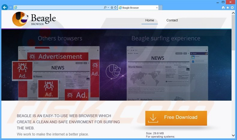 BeagleBrowser adware