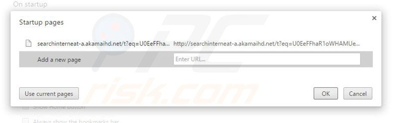 Removing searchinterneat-a.akamaihd.net from Google Chrome homepage