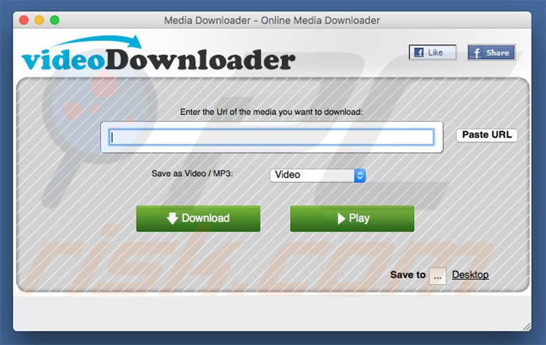 MediaDownloader (videoDownloader) application