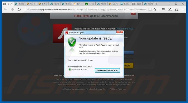 Jak odinstalowa oszustwo adobe flash player update How to start flash player
