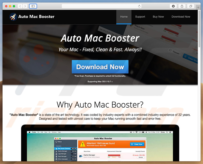 Auto Mac Booster download website