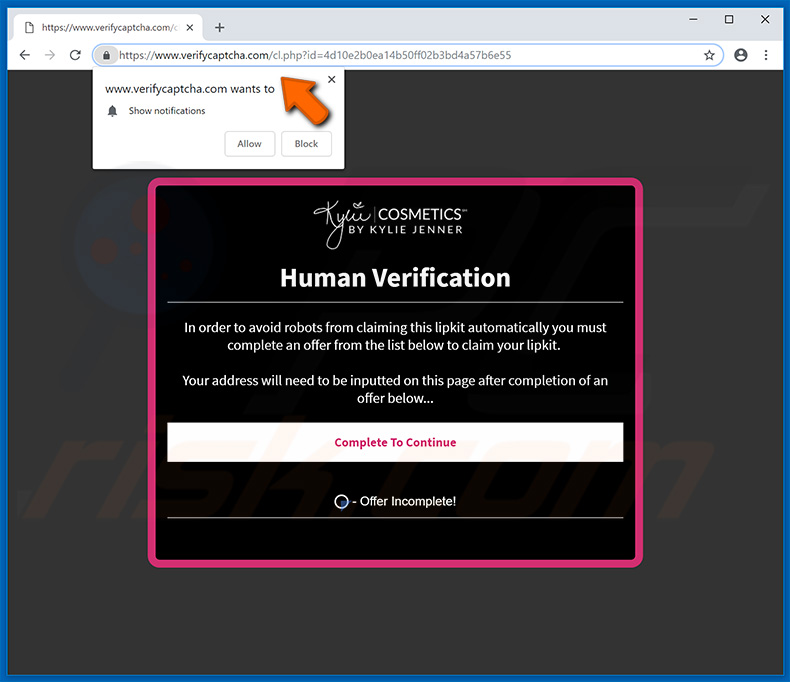 verifycaptcha.com website