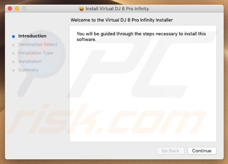 Virtual DJ 8 Pro Infinity installer