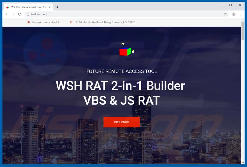 WSH RAT download website