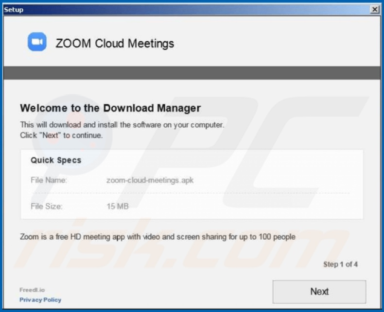 Zoom virus another malicious installer