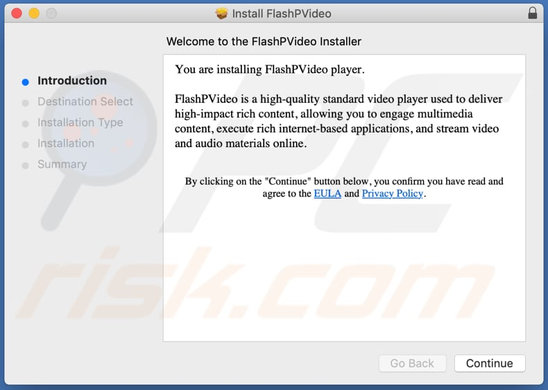 Delusive installer used to promote FlashPVideo adware